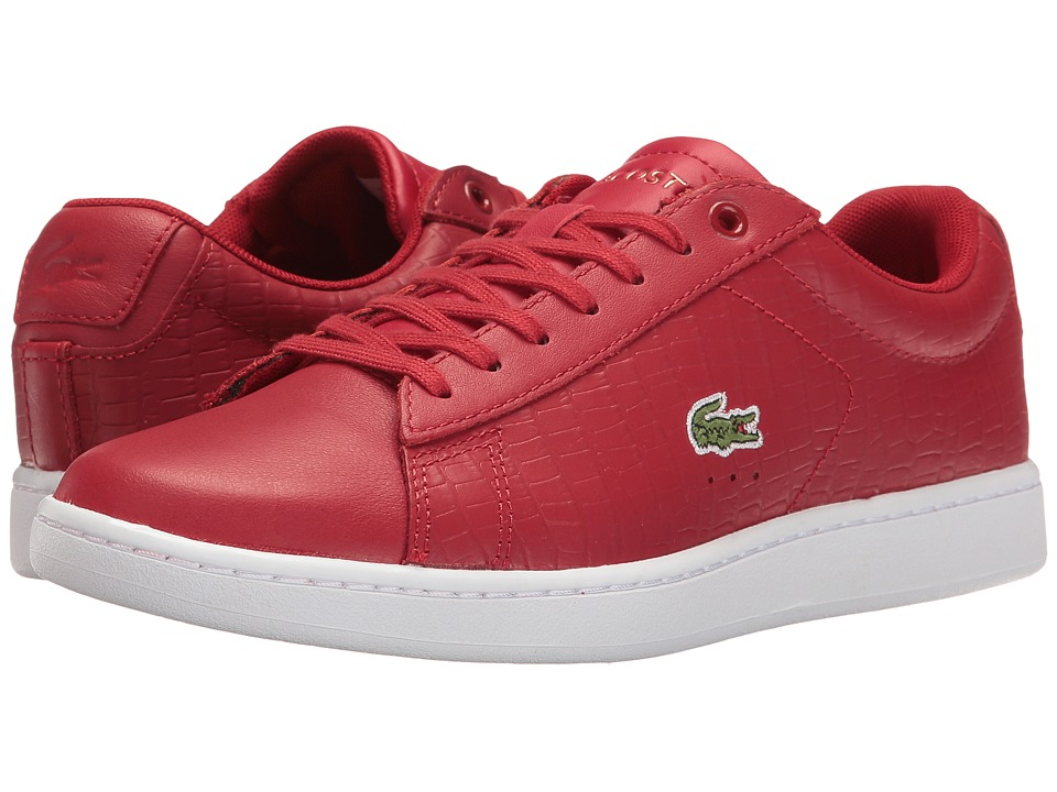 Lacoste Carnaby Evo G117 5 (Red/Red) Women