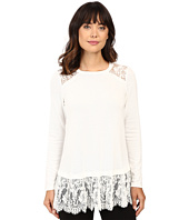 Karen Kane - Lace Yoke Inset Sweater