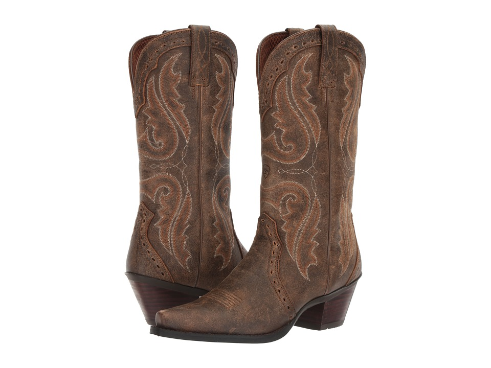 Ariat Heritage Western X-Toe (Vintage Bomber) Cowboy Boots