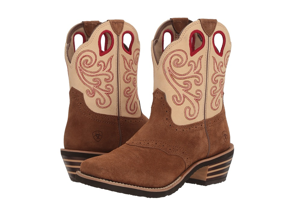 Ariat Riata (Toffee/Cream) Cowboy Boots