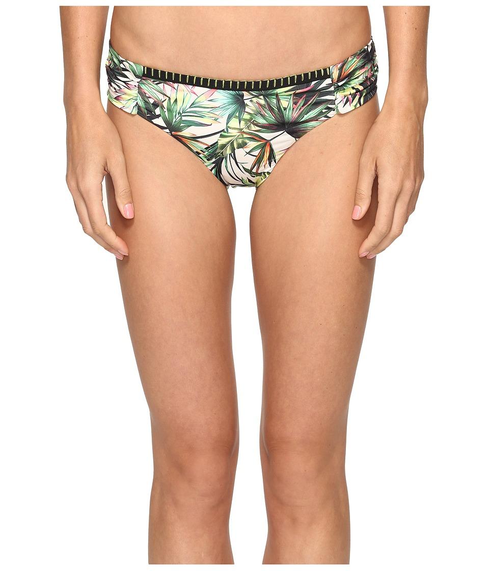 Lucky Brand Coastal Palms Side Sash Hipster Bottom (Ivory)