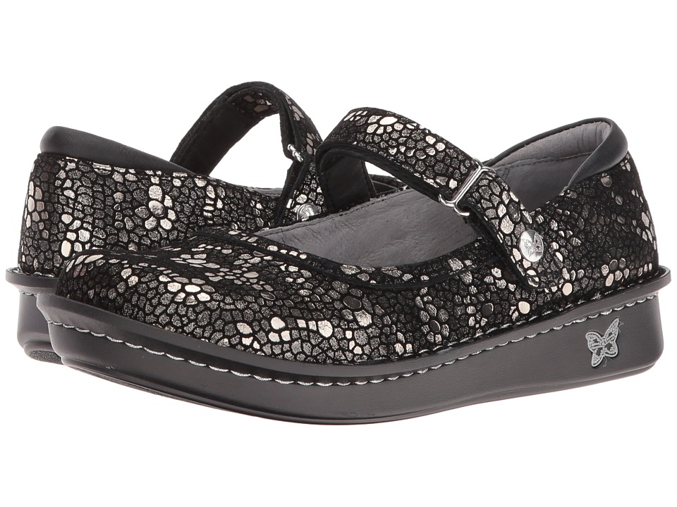 Image of Alegria - Belle (Pewter Mosaic) Women's Maryjane Shoes
