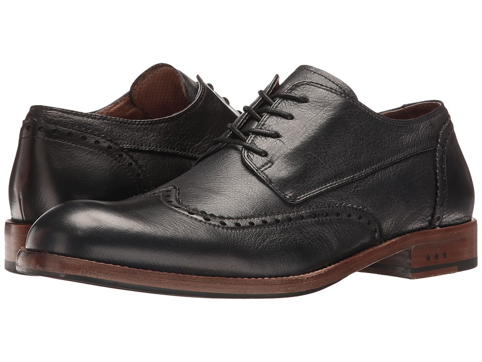 John Varvatos Waverly Wingtip (Black) Men
