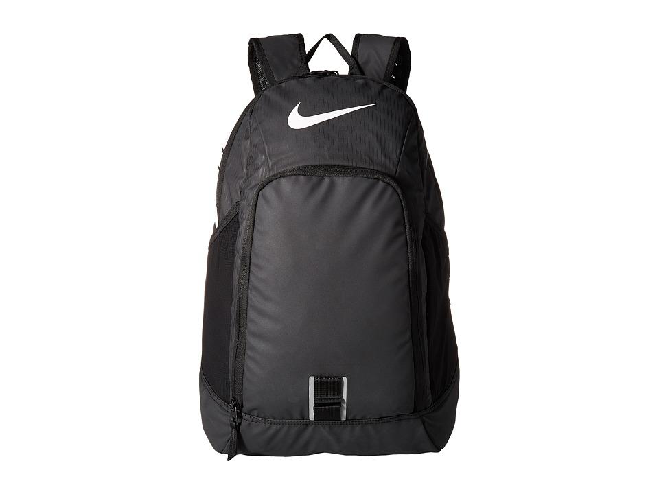 Nike Alpha Adapt Rev Backpack (Black/Black/White) Backpack Bags