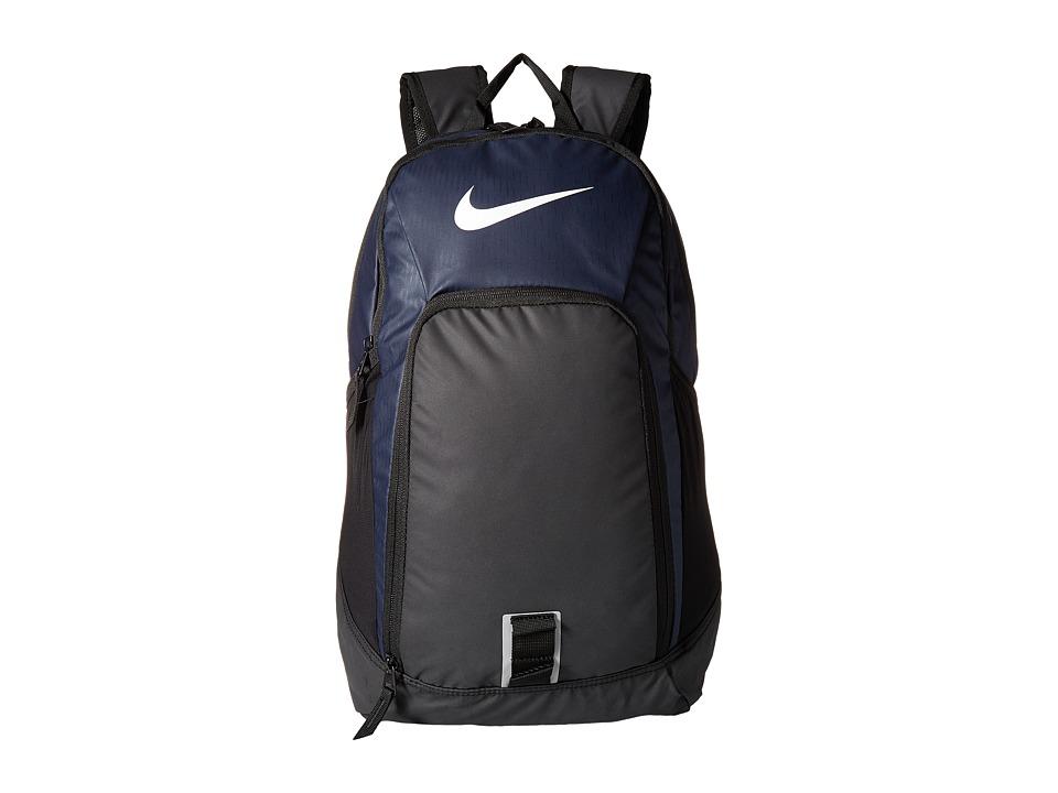 Nike Alpha Adapt Rev Backpack (Midnight Navy/Black/White) Backpack Bags