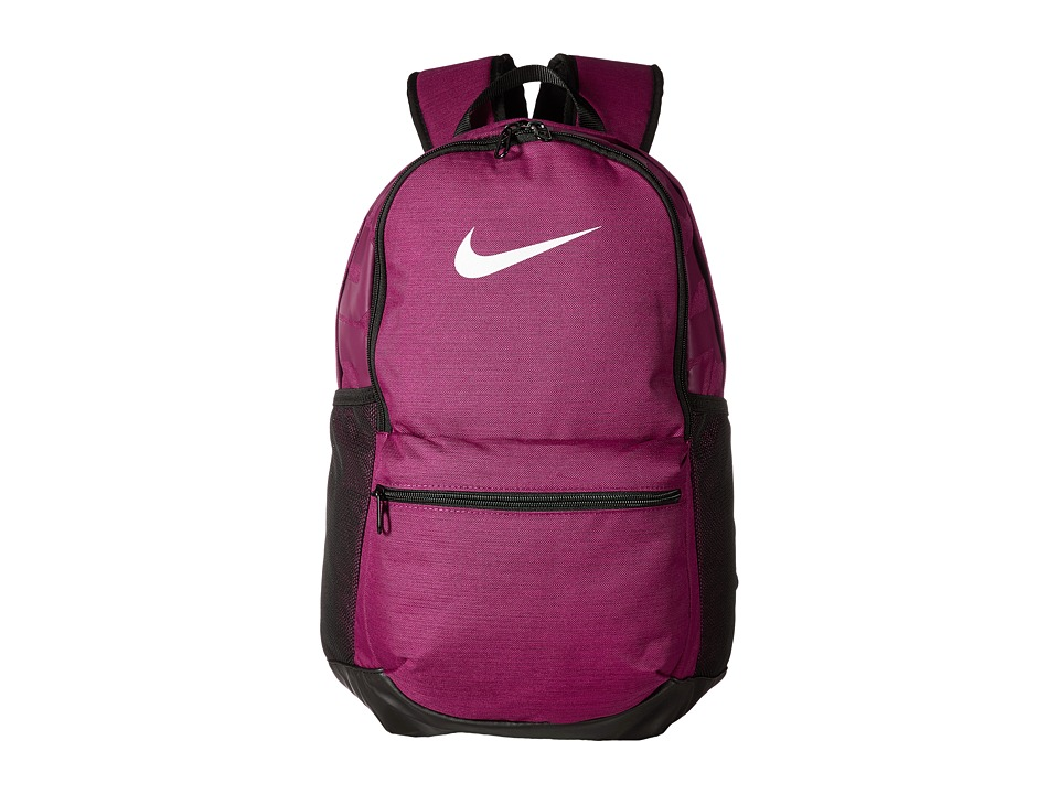 Nike Brasilia Medium Backpack (True Berry/Black/White) Backpack Bags