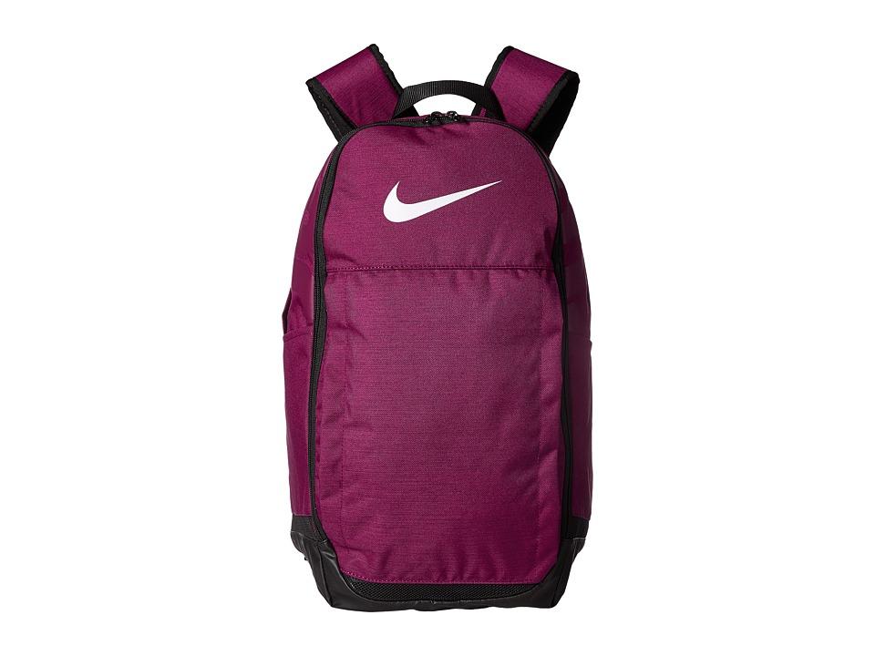Nike Brasilia Extra Large Backpack (True Berry/Black/White) Backpack Bags