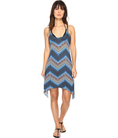 Lucky Brand - Nomad Chevron Shark Bite Dress Cover-Up