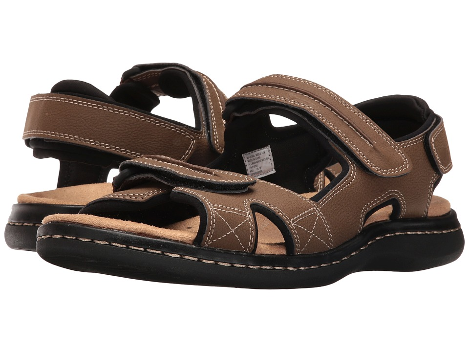 Dockers Newpage Quarter Strap Sandal (Dark Tan) Men