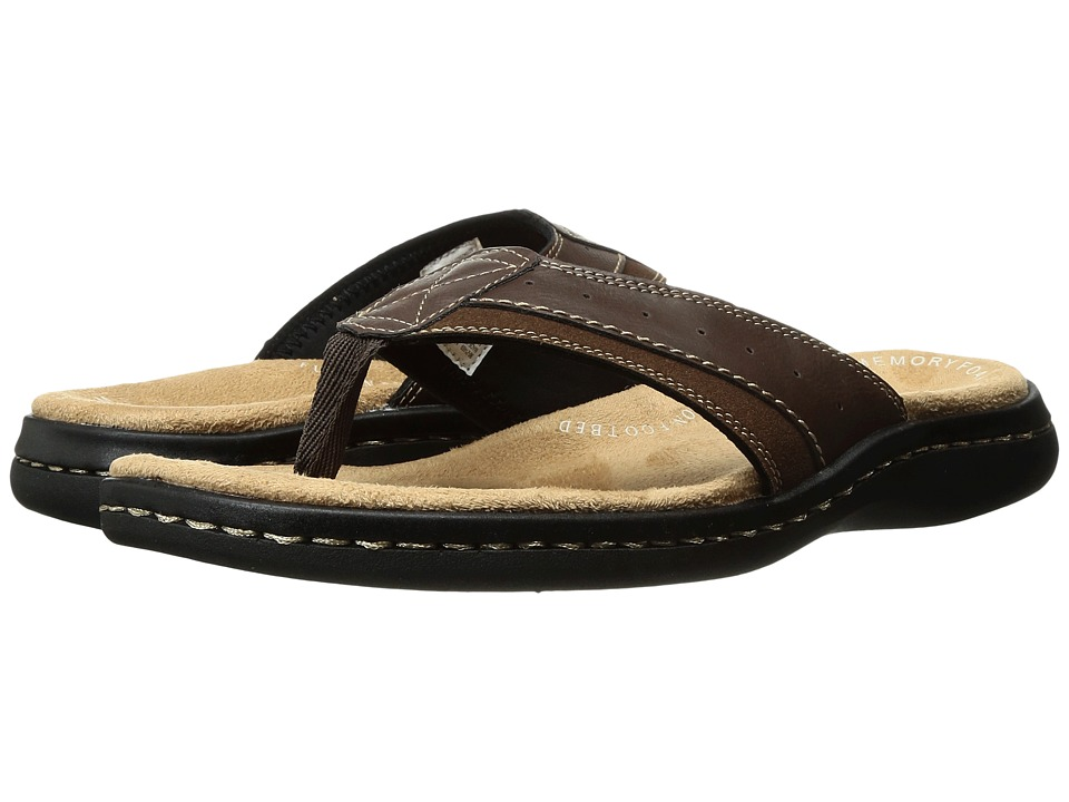 Dockers Laguna Thong Sandal (Briar) Men