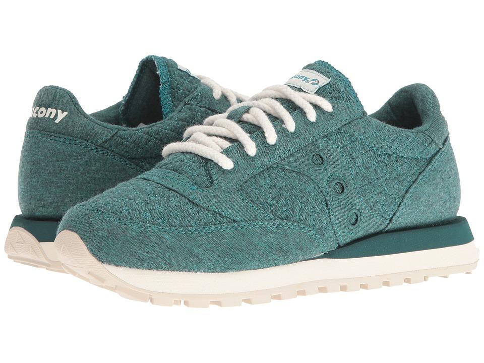 Saucony Originals - Jazz O Cozy (Green) Womens Classic Shoes