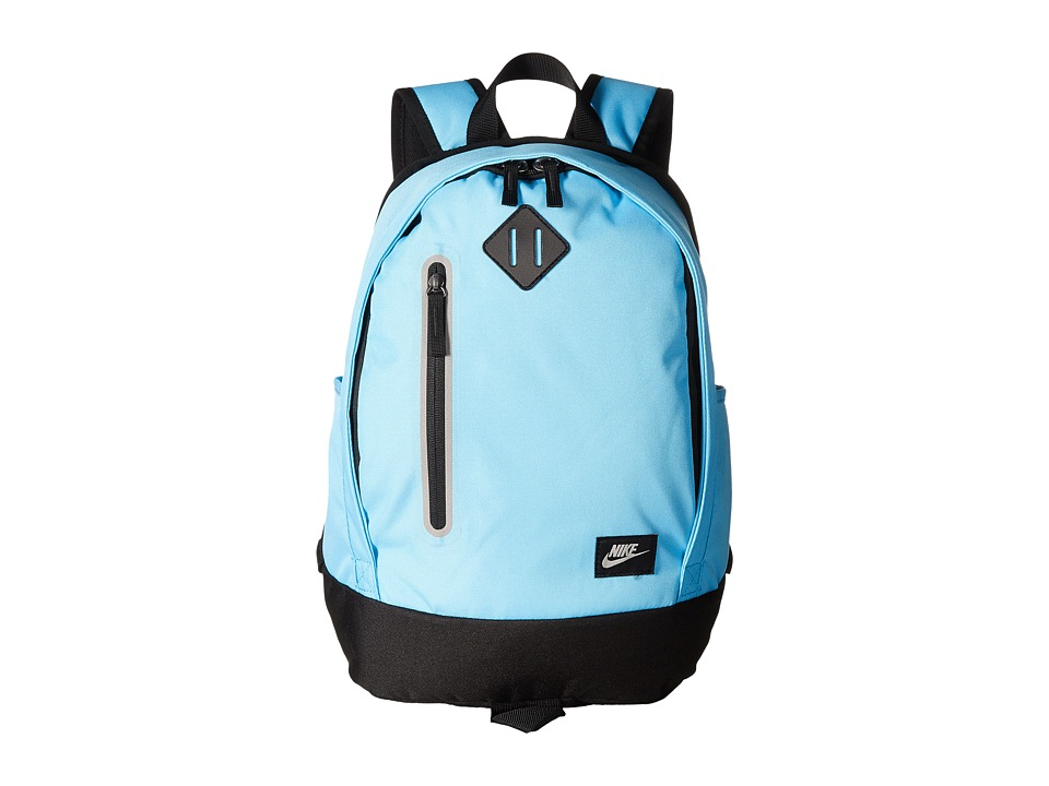 Nike Young Athletes Cheyenne Solid Backpack (Polarized Blue/Black/Matte Silver) Backpack Bags