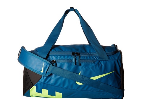 Nike New Duffel Small - Industrial Blue/Black/Ghost Green
