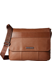Tommy Hilfiger - Morgan Flap Messenger Leather