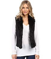 XOXO - Quilted Fur Sweater Vest