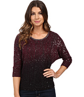 XOXO - Ombre Sequin Pullover with Chain Neck