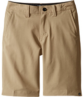 Quiksilver Kids - Solid Amphibian 19 Walkshorts (Big Kids)