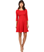 Taylor - Knit Jacquard Fit and Flare Dress