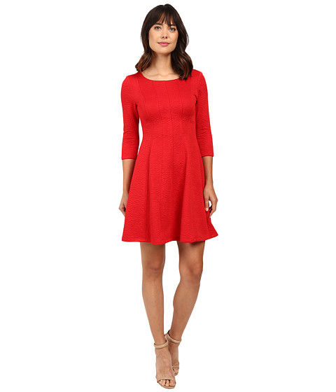 Taylor Knit Jacquard Fit and F...