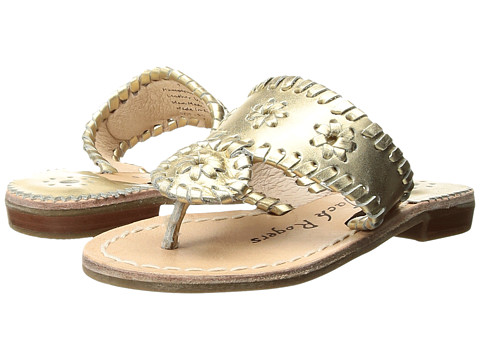 Jack Rogers Miss Hamptons II (Toddler/Little Kid/Big Kid) - Gold 1