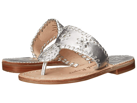 Jack Rogers Miss Hamptons II (Toddler/Little Kid/Big Kid) - Silver 1