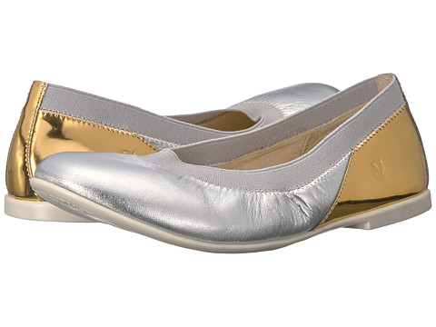 Naturino 4582 USA SS17 (Toddler/Little Kid/Big Kid) - Silver/Gold