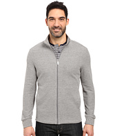 Perry Ellis - Classic Full Zip Texture Knit Jacket