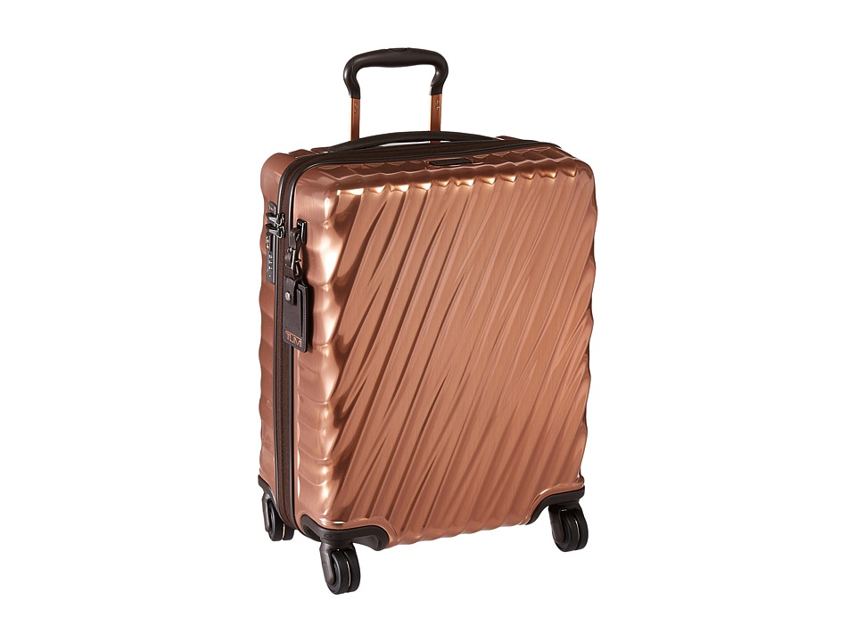 Tumi 19 Degree Continental Carry-On (Copper) Carry on Luggage
