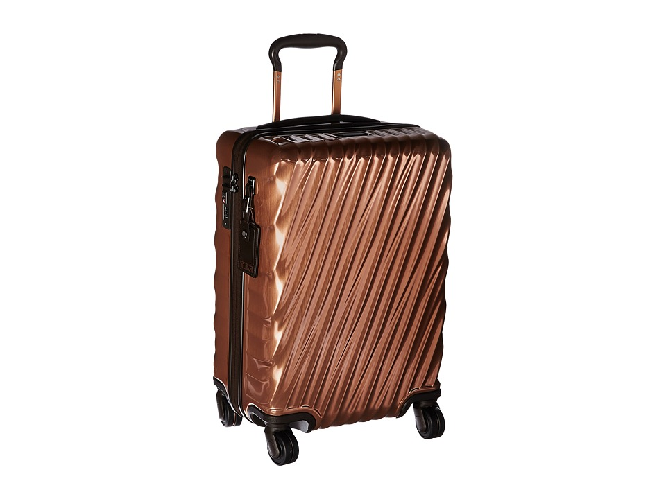 Tumi 19 Degree International Carry-On (Copper) Carry on Luggage