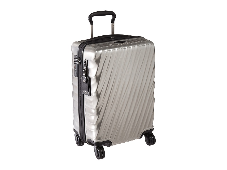 Tumi 19 Degree International Carry-On (Silver) Carry on Luggage