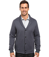Perry Ellis - Quilted Shawl Collar Cardigan