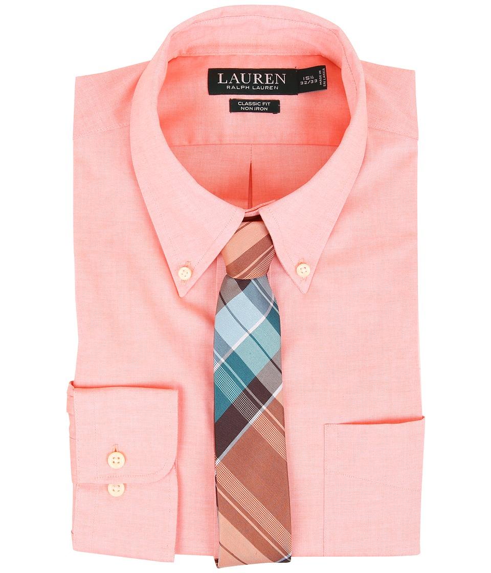 Ralph Lauren Pinpoint Classic Button Down Pocket Shirt (T...