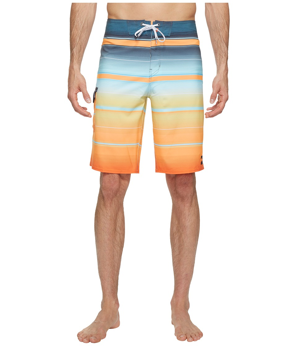 Billabong All Day X Stripe Boardshorts (Tangerine) Men