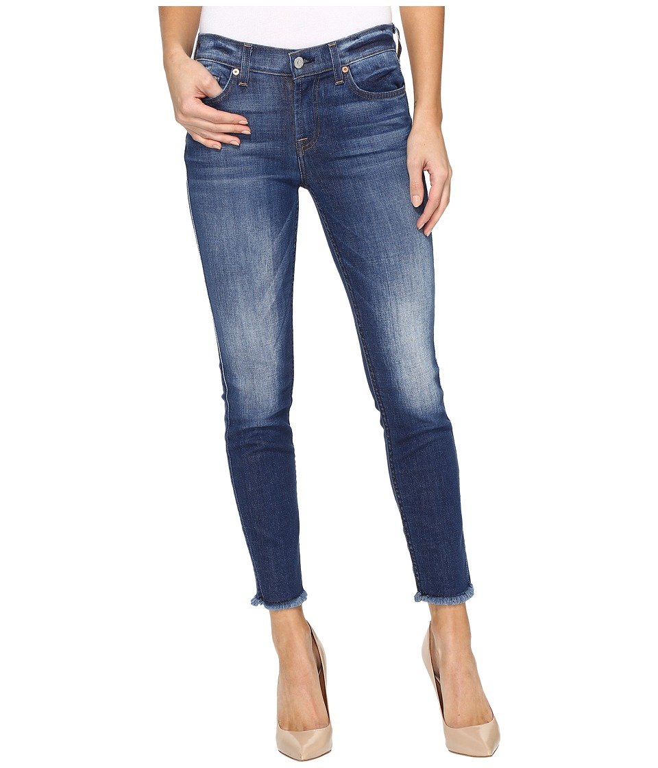 7 For All Mankind - The Ankle Skinny w/ Raw Hem in Bondi Beach