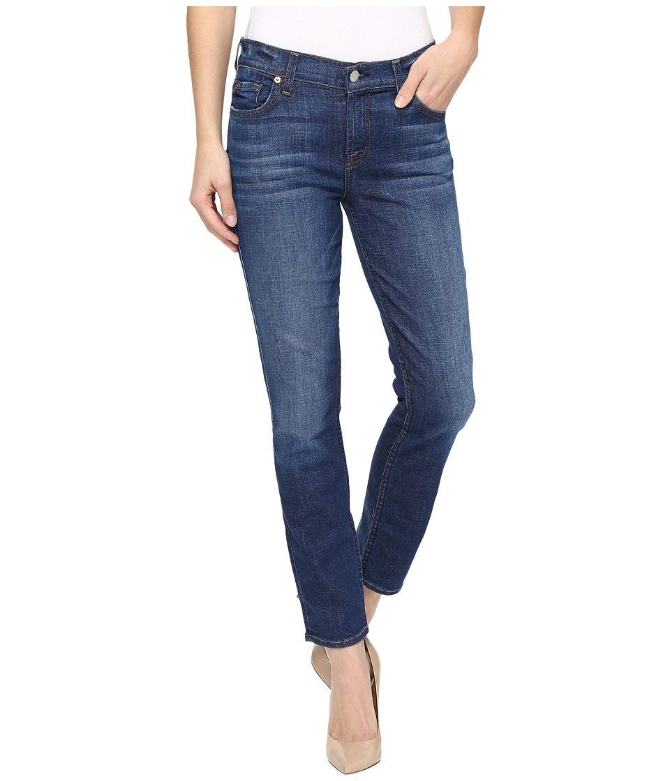 7 For All Mankind - Roxanne Ankle w/ Squiggle in Bondi Beach