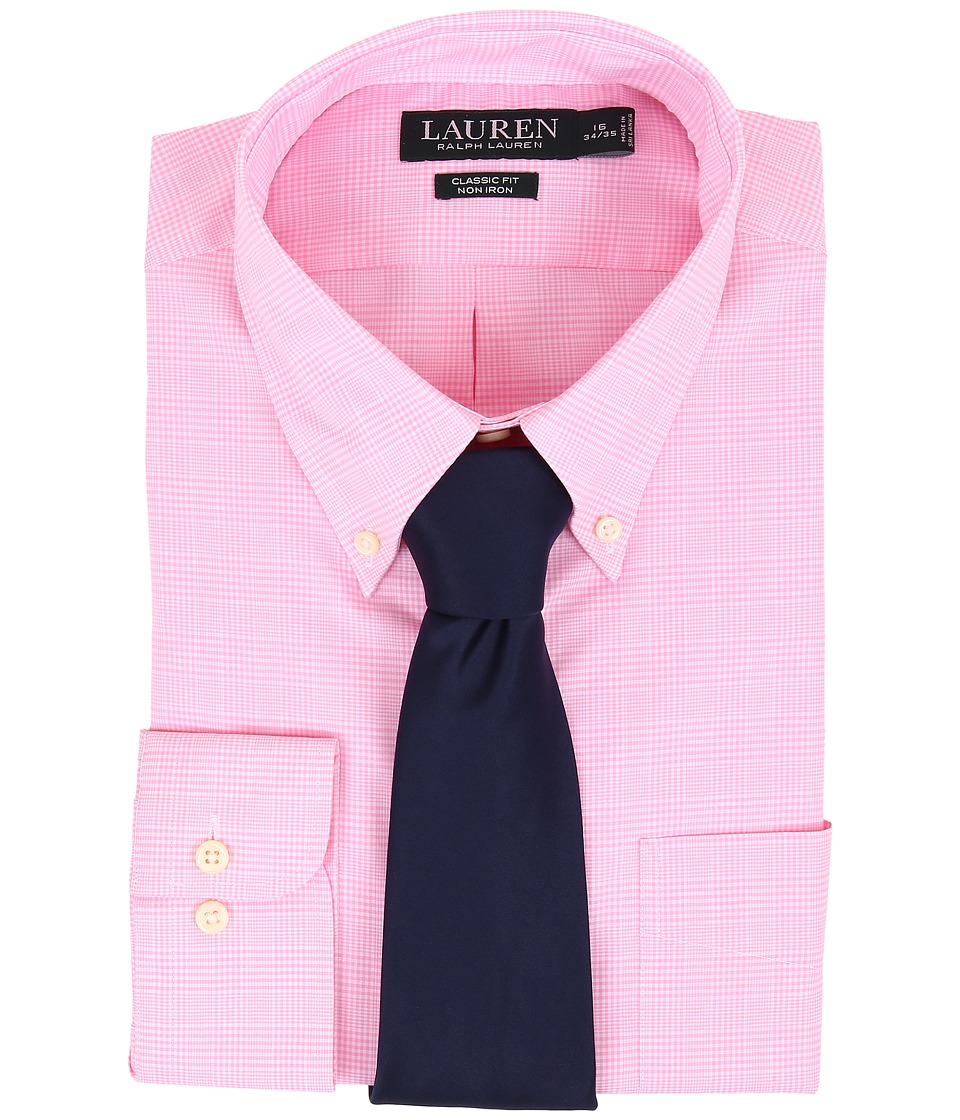 Ralph Lauren Ni Poplin Check Stretch Classic Button Down ...