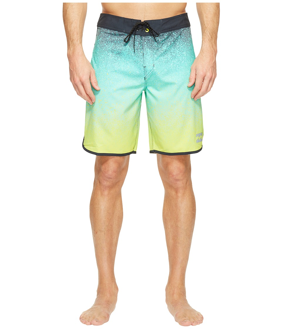Billabong 73 X Line Up Boardshorts (Lime) Men