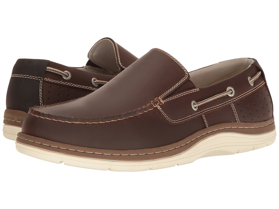 Dockers Oakdale Boat Shoe (Red Brown) Men's Shoes