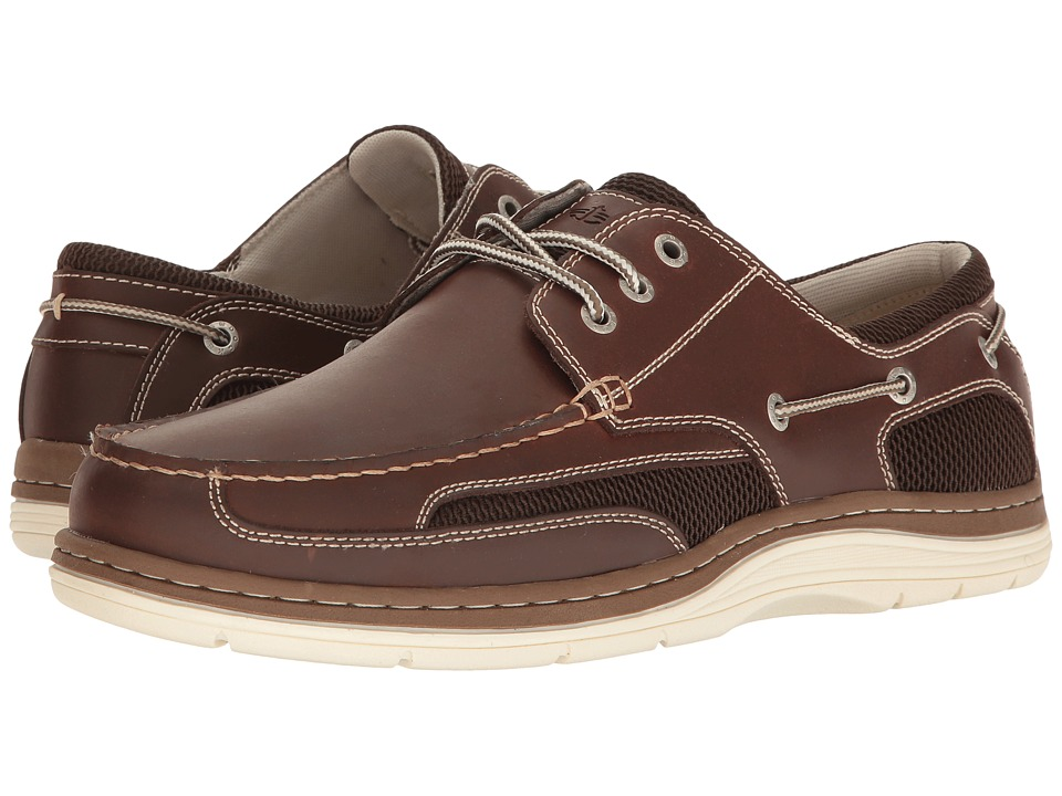 Dockers Lakeport Boat Shoe (Red Brown) Men