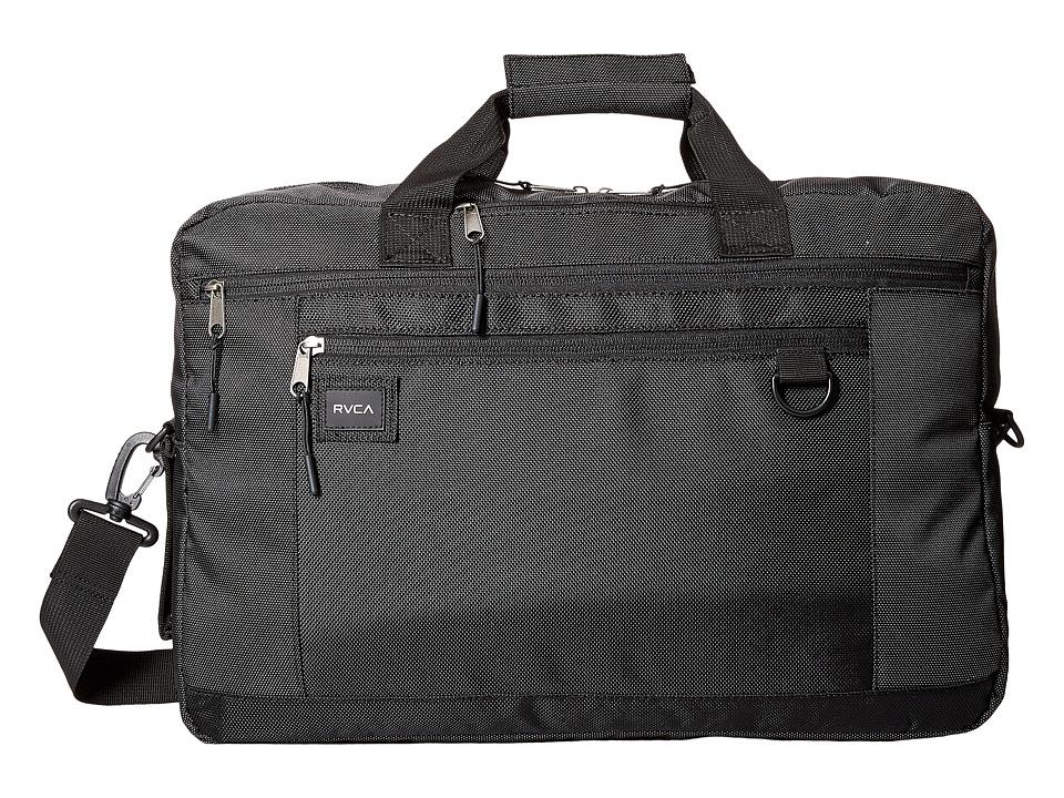 RVCA Omzig Briefcase (Black) Briefcase Bags