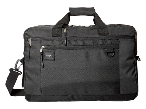 RVCA Omzig Briefcase - Black