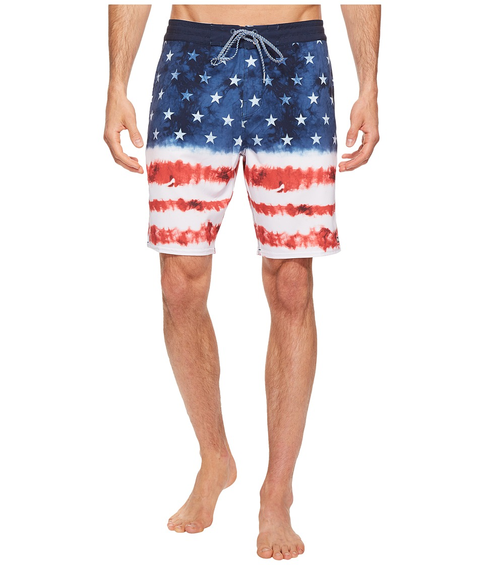 Billabong Sundays Lo Tide Riot Boardshorts (Navy) Men
