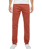 Mavi Jeans - Zach Regular Rise Straight Leg Twill in Brick Red Twill