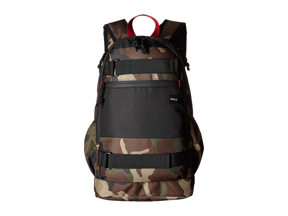 RVCA Push Skate Delux (Camo) Backpack Bags