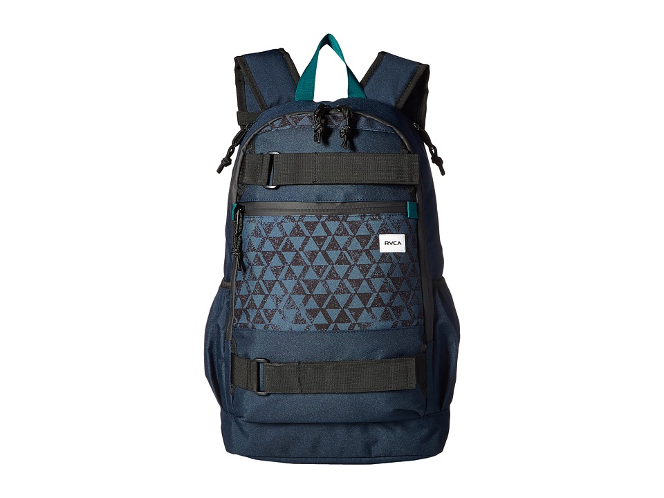RVCA Push Skate Delux (Navy) Backpack Bags