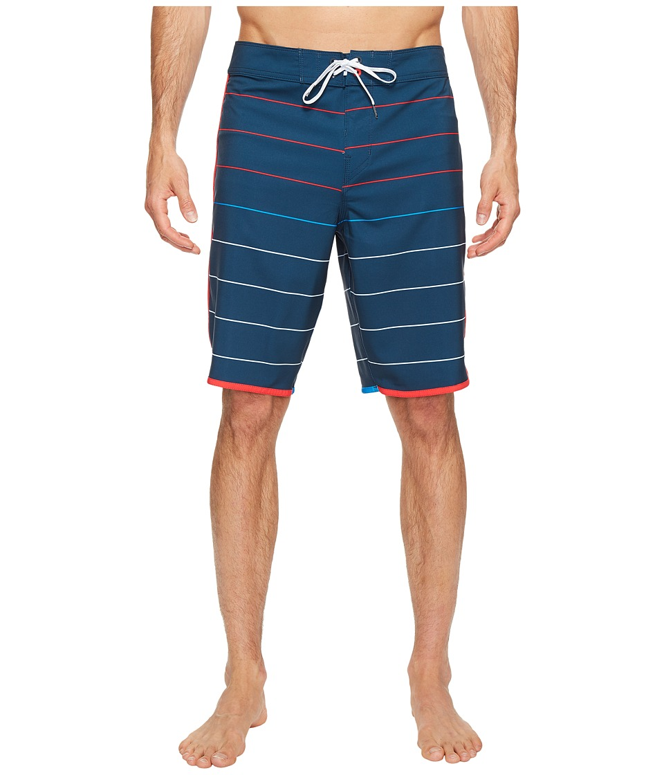 Billabong 73 X Stripe Boardshorts (Indigo) Men