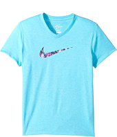 Nike Kids - Dry Swoosh Fill Short Sleeve Tee (Little Kids/Big Kids)