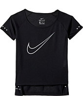 Nike Kids - Breathe Short Sleeve Running Top (Little Kids/Big Kids)