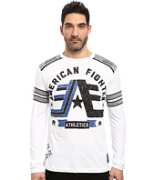 American Fighter - Stony Brook Pattern Long Sleeve Panel Crew