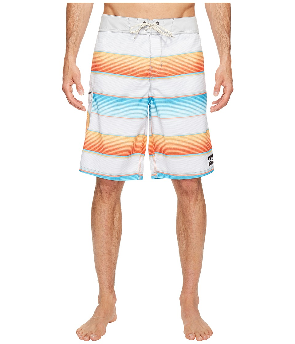 Billabong All Day Originals Stripe Boardshorts (Steel) Men